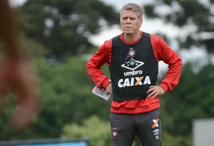 Paulo Autuori, Atlético-PR, treino (Foto: Marco Oliveira/Atlético-PR)