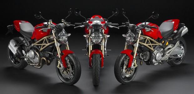 Edições de 20º aniversário da Ducati Monster (Foto: Divulgação)