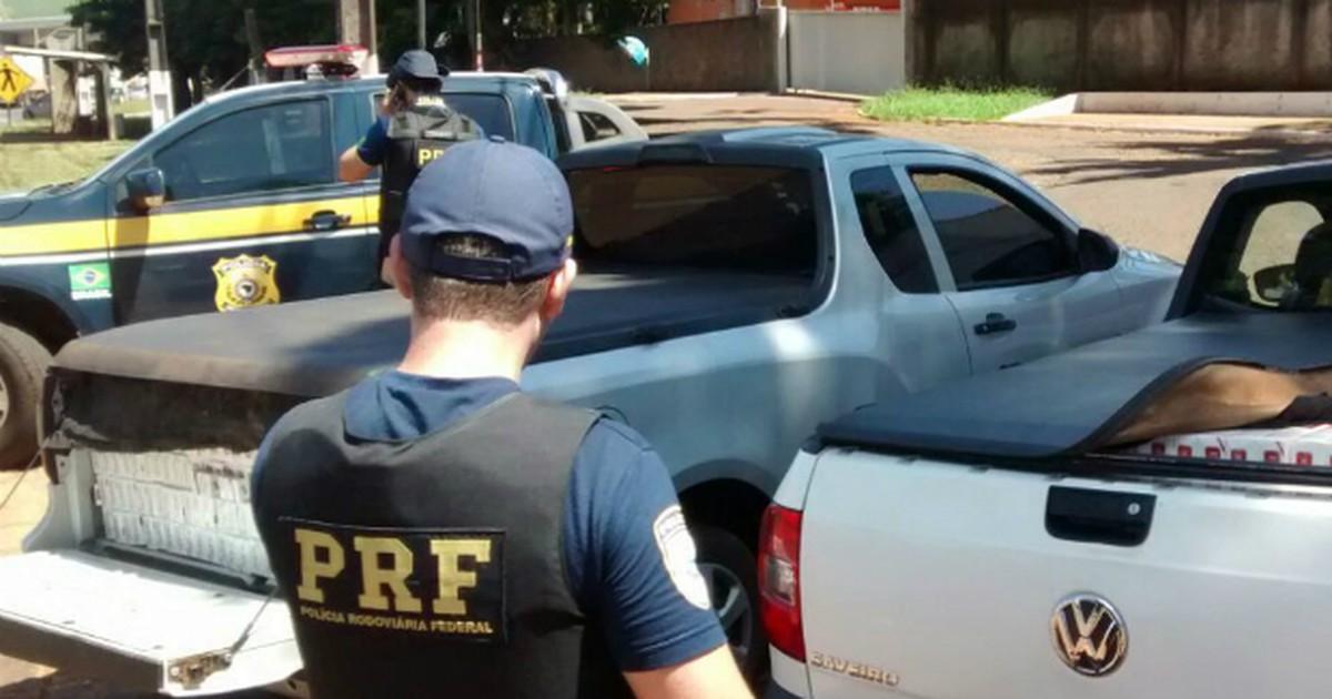 Dupla tenta fugir e é presa com carga de cigarros em motel de ... - Globo.com