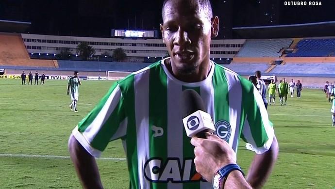 Marcão, atacante do Goiás (Foto: Reprodução/Premiere)