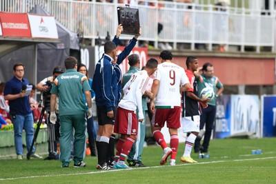 Fred Joinville x Fluminense (Foto: CARLOS JR/FUTURA PRESS/ESTADÃO CONTEÚDO)
