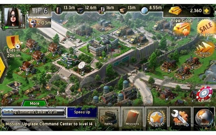 Nada de FPS! Empire Z é um jogo de estratégia com Zumbis (Foto: Divulgação)