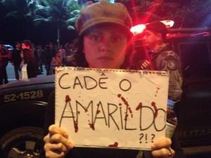 CADE AMARILDO (Foto: Gabriel Barreira/G1)
