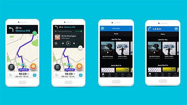 Spotify e Waze atualizam aplicativos (Foto: Divulgação)