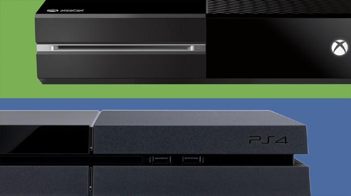 PlayStation 4 disparou na frente do Xbox One mas a diferença vem se fechando (Foto: Gizmodo)