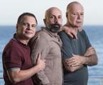 Ricardo Linhares, João Ximenes Braga e Gilberto Braga | Daniela Dacorso