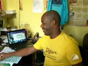 Empreendedor (Foto: Reprodução/TV Bahia)