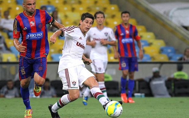 Conca jogo Fluminense e Bonsucesso (Foto: Ricardo Ayres / Photocamera)