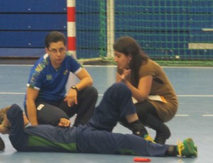 mayssa handbol londres 2012 (Foto: Cahê Mota/Globoesporte.com)