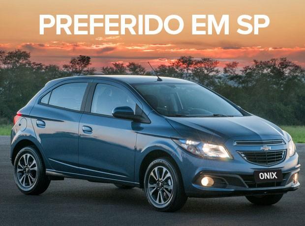 carros mais vendidos por estado 2015 - onix (Foto: Divulgação)