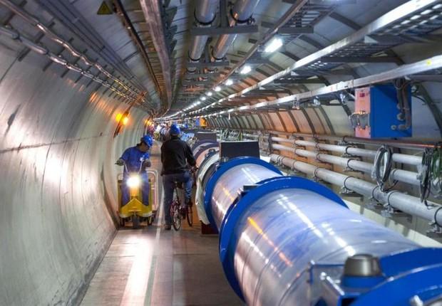 LHC, acelerador de partículas do CERN (Foto: Reprodução/Internet)