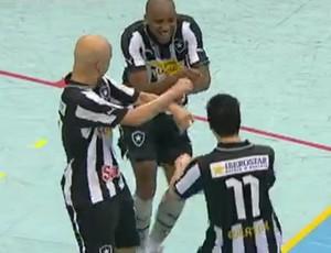 FRAME - Botafogo futsal (Foto: Reprodução SporTV)