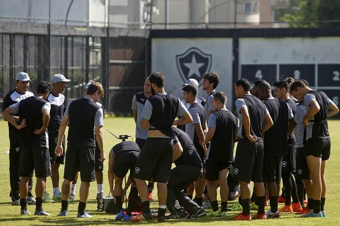 Treino Botafogo General Severiano (Foto: Vitor Silva / SSPress / Botafogo)