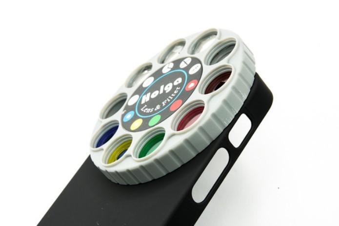 As lentes Holga oferecem diversos filtros e efeitos para as fotos feitas pelo celular (Foto: Divulgação)