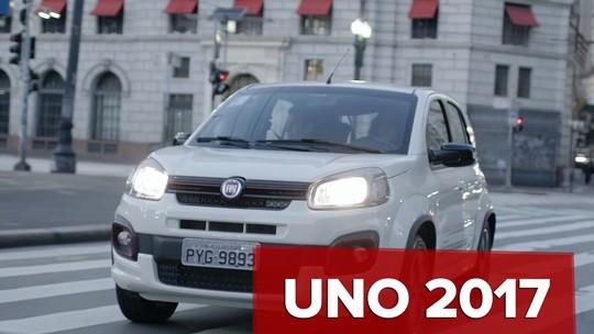 Fiat Uno 2017: primeiras impressões