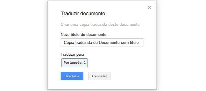 Traduza artigos sem precisar sair do Google Docs (Foto: Reprodução/Carol Danelli)