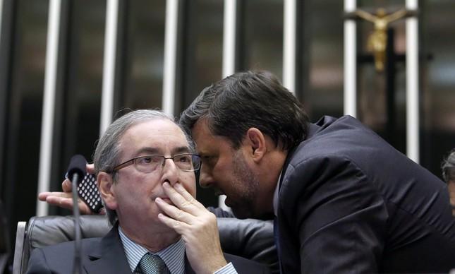 Eduardo Cunha e Carlos Sampaio