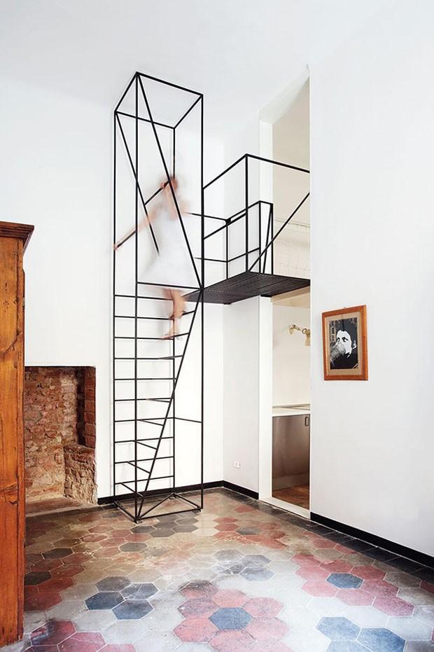 21 ideias criativas para escadas casa vogue ambientes - Escalera decoracion ikea ...