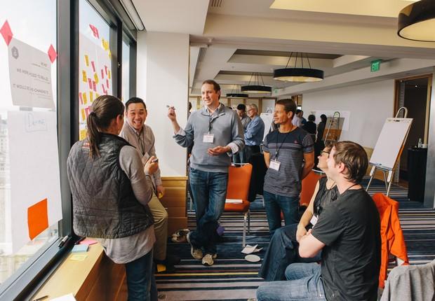 Criatividade ; gerando ideias ; trabalho em equipe ; brainstorming ; carreira ;  (Foto: Dreamstime)