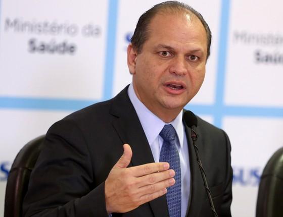 Ricardo Barros ministro da sáude (Foto: Wilson Dias/Agência O Globo)