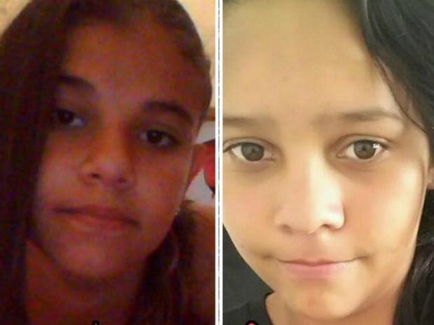 Luana (à esquerda) foi homenageada pela amiga de infância Bionda (Foto: Bionda Lazaro/arquivo pessoal)