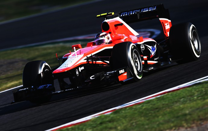 F1 Japão Max Chilton (Foto: Gettyimages)