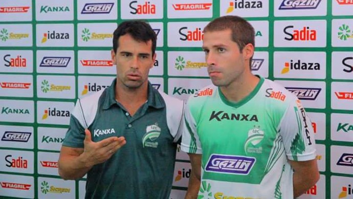 Meia Adriano da Matta reforço do Luverdense (Foto: Assessoria/Luverdense Esporte Clube)