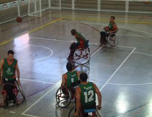 Equipe Adefu Uberaba, basquete cadeira de roda (Foto: Divulgação/ADEFU)