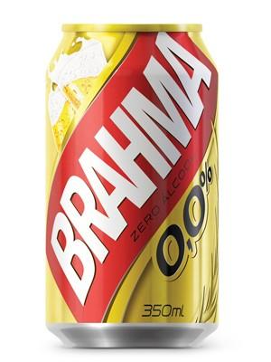 A nova cerveja da Brahma, sem álcool (Foto: Divulgação)