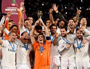 Iker Casillas, taça Real Madrid mundial de clubes
