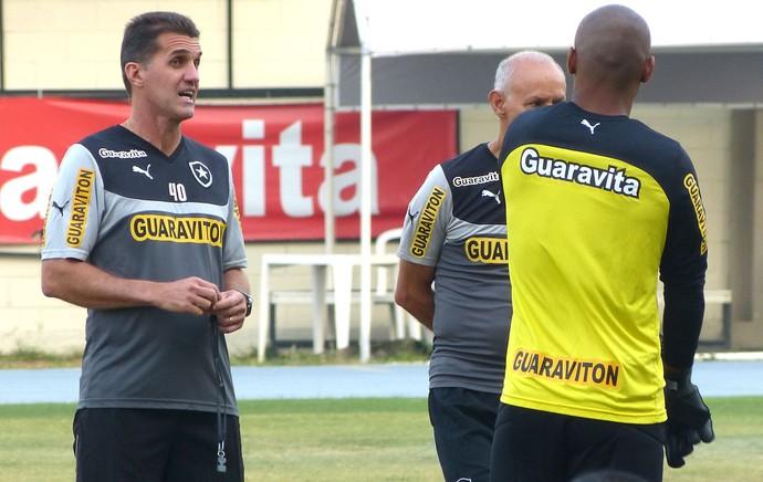 Vagner Mancini Treino Botafogo (Foto: Vicente Seda)