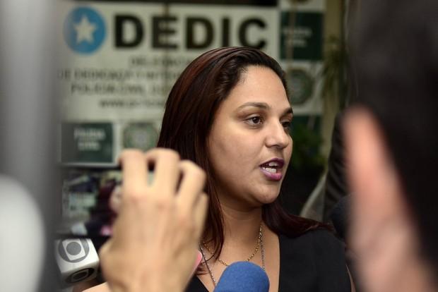 Delegada Viviane Costa (Foto: Roberto Teixeira/ EGO)