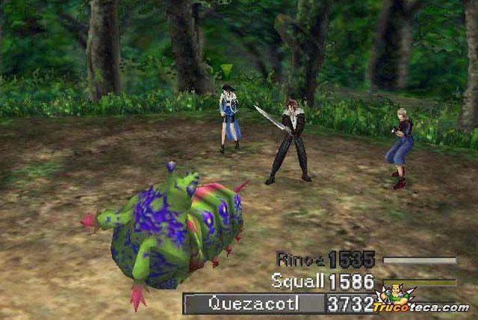 Final Fantasy 8 tinha combate diferenciado (Foto: Reprodção/TrucoTeca)