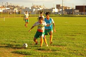 Luverdense sub-19, treinos, 2015 (Foto: Assessoria/Luverdense EC)