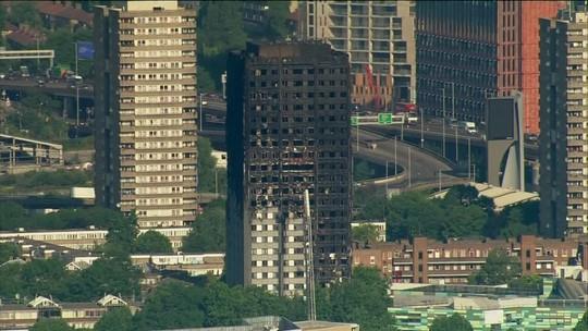 Número de mortos em incêndio em Londres sobe para 17 e polícia descarta terrorismo