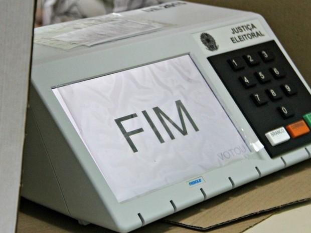 Primeiro turno das eleições municipais no Amazonas encerrou às 17h (Foto: Suelen Gonçalves/ G1 AM)