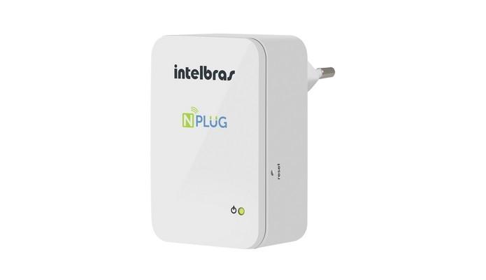 Extensor de sinal Wi-Fi Intelbras NPlug (Foto: Divulgação/Intelbras)