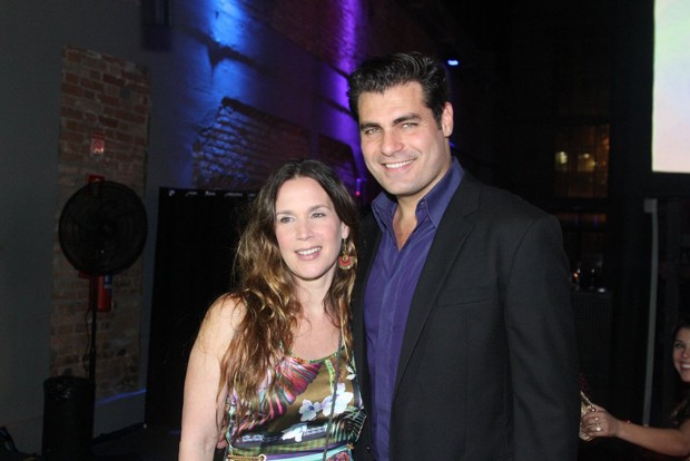 Vanessa Lóes e Thiago Lacerda (Foto: Marcelo Brammer e Thiago Duran/AgNews)