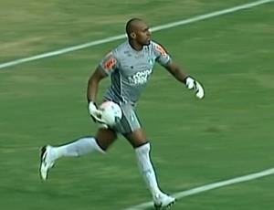 Neneca, goleiro do América-MG (Foto: Reprodução Sportv)