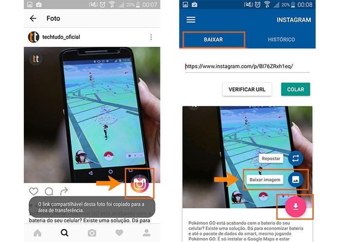 Baixe o conteúdo do Instagram para o celular (Foto: Reprodução/Barbara Mannara) (Foto: Baixe o conteúdo do Instagram para o celular (Foto: Reprodução/Barbara Mannara))
