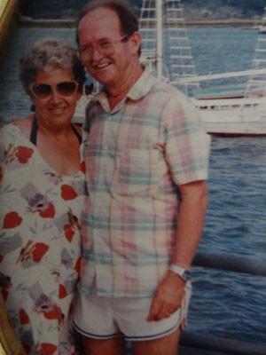 Padre Humberto quando era casado (Foto:  Reprodução / Belmiro Humberto / Acervo pessoal)