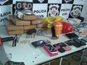 Tráfico de Drogas Quatipuru (Foto: Divulgação)