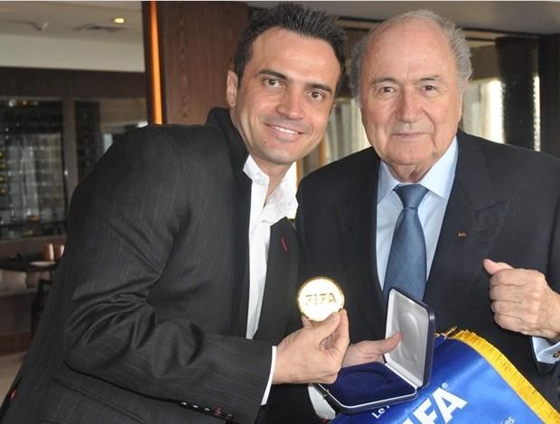 Falcão futsal Blatter São Paulo (Foto: Getty Images/Fifa)