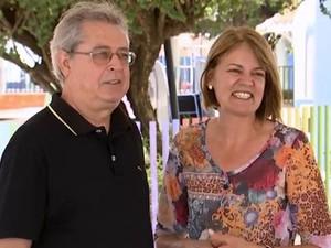Casal está junto há 38 anos (Foto: Arquivo pessoal / Orisvaldo Quiquinato)