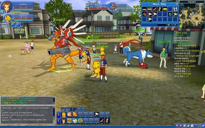 Digimon Masters foi um MMO de sucesso (Foto: Divulgação)