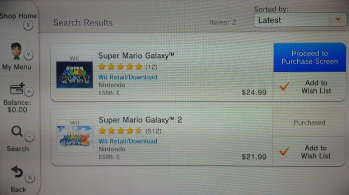 Escolha seu jogo favorito do Wii no Wii U (Foto: Reprodução/Thomas Schulze)
