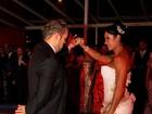 Gracy e Belo dançam valsa e emendam com 'Kuduro'. Veja fotos!