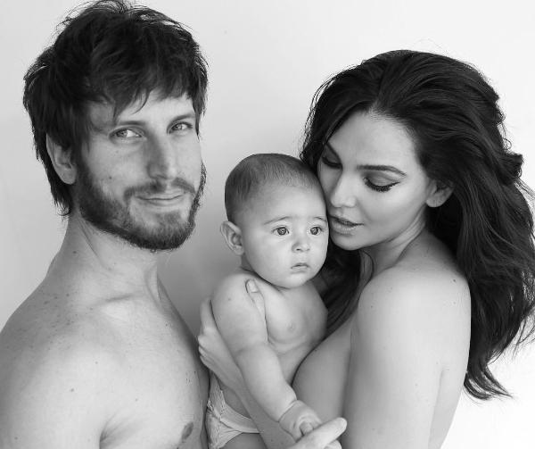 Tainá Müller com o marido e o filho (Foto: Reprodução/Instagram)