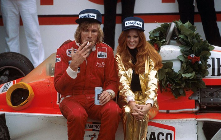 James Hunt GP do Japão 1976 campeão