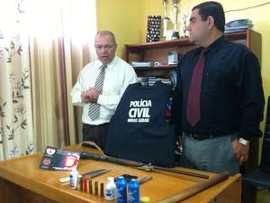 Delegados dizem que investigação começou em dezembro de 2012 (Foto: Michelly Oda / G1)